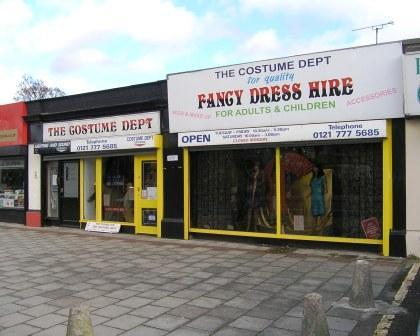 The Costumer Department – Hall Green, Birmingham