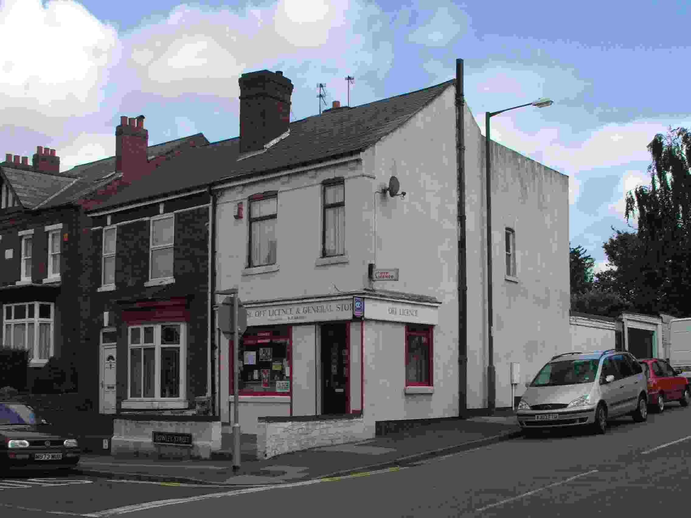 Rolwey Street Off Licence – Walsall, West Midlands