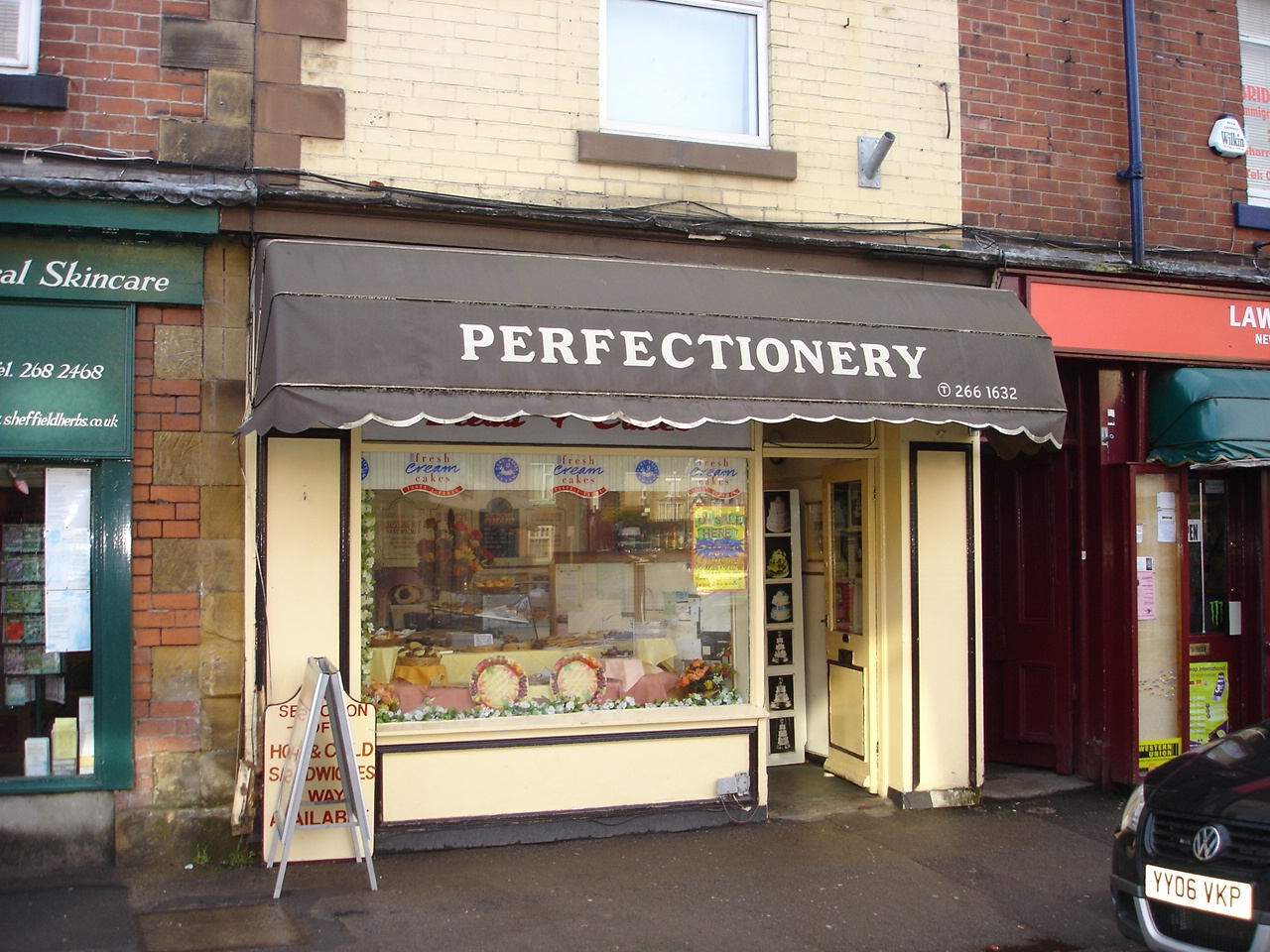 Perfectionery Sandwich Bar & Specialist Cake Bakery – Superb Sheffield Location.