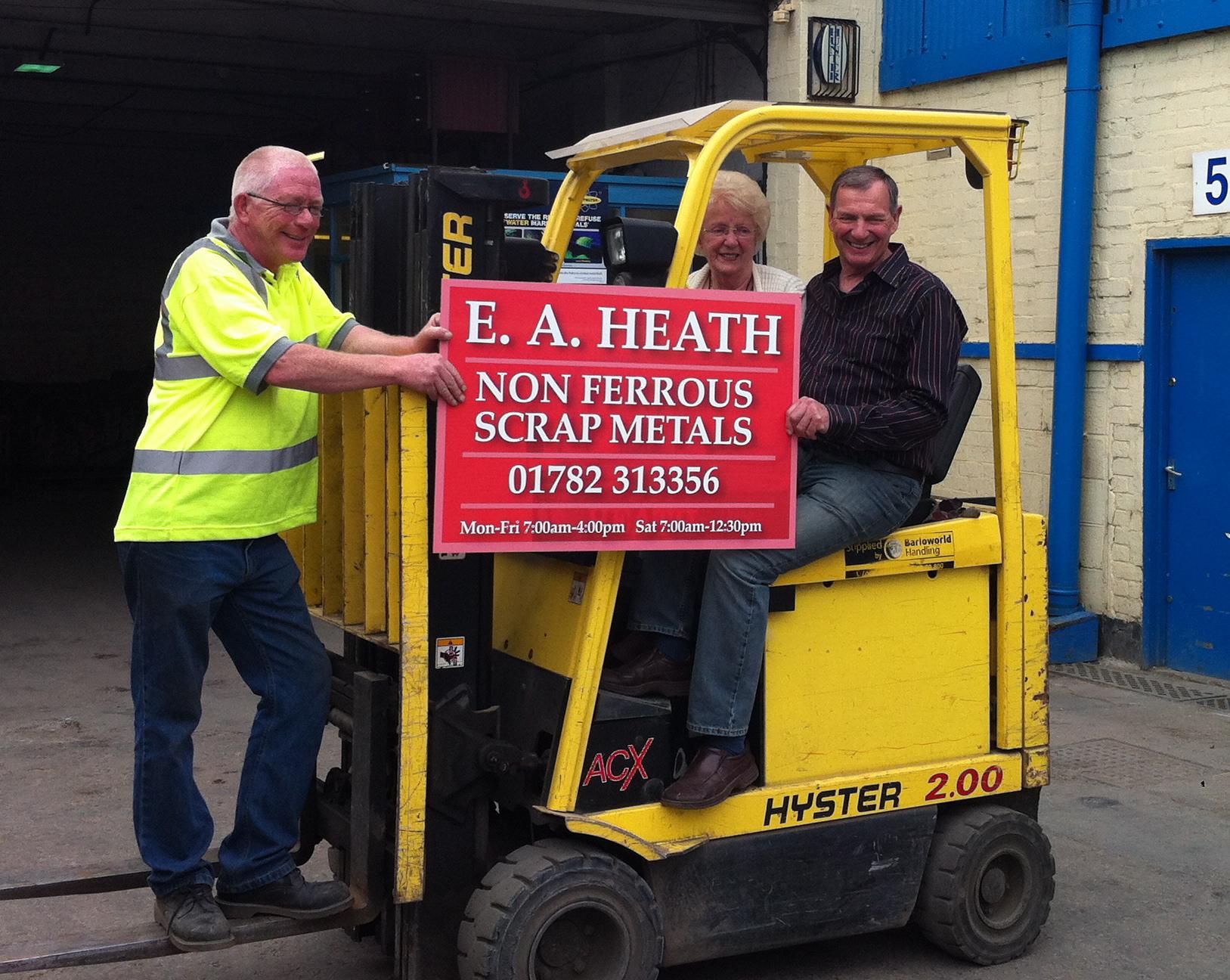 E A Heath (R&W) Ltd, Stoke on Trent