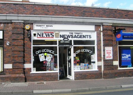 Trinity Newsagents, Worcester