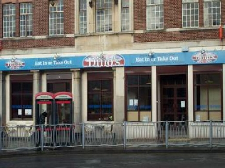 Dinos Cafe &Diner Walsall Town Centre