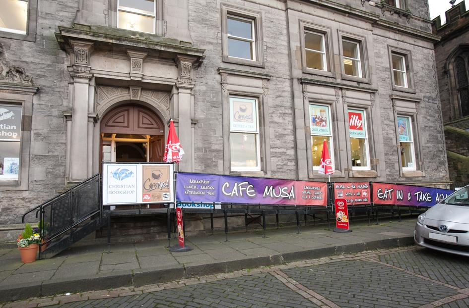 Cafe Musa, The Mound, Edinburgh