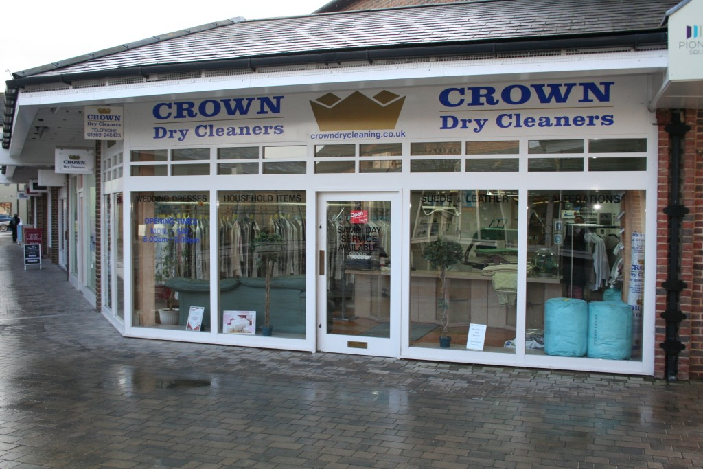 Crown Dry Cleaners, Bicester, Oxfordshire
