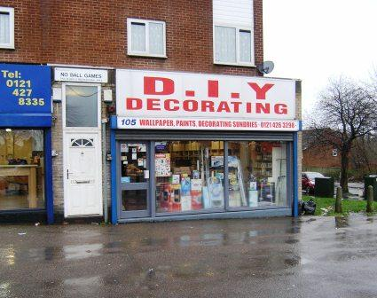 DIY Decorating, Weoley Castle, Birmingham