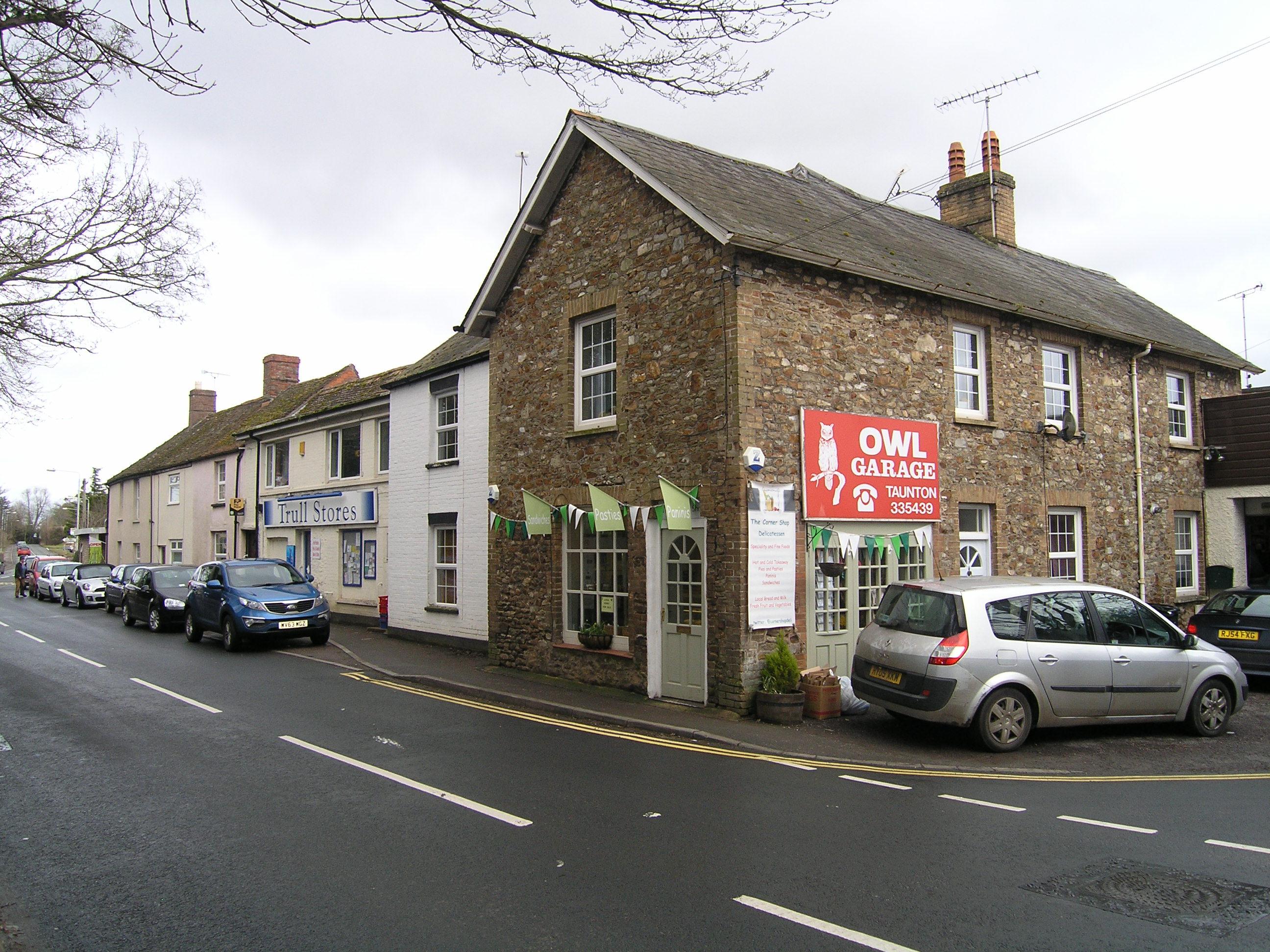 The Corner Shop Delicatessen, Trull, Taunton.