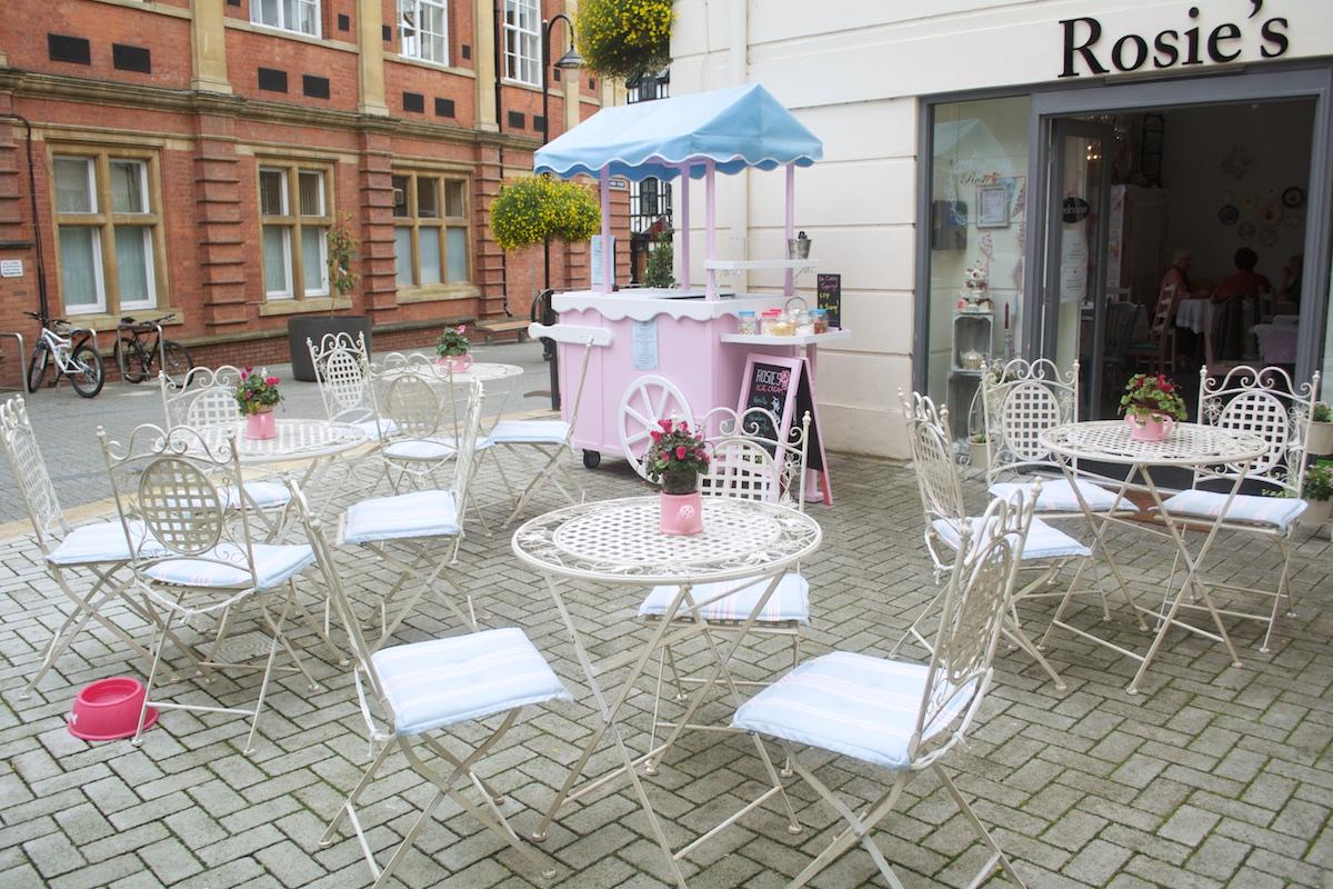 Rosies Vintage Tea Shop, Leamington Spa