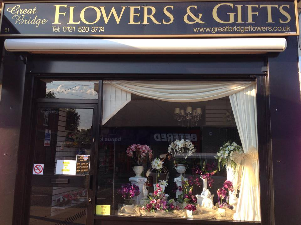 Great Bridge Flowers & Gifts, Tipton, West Midlands