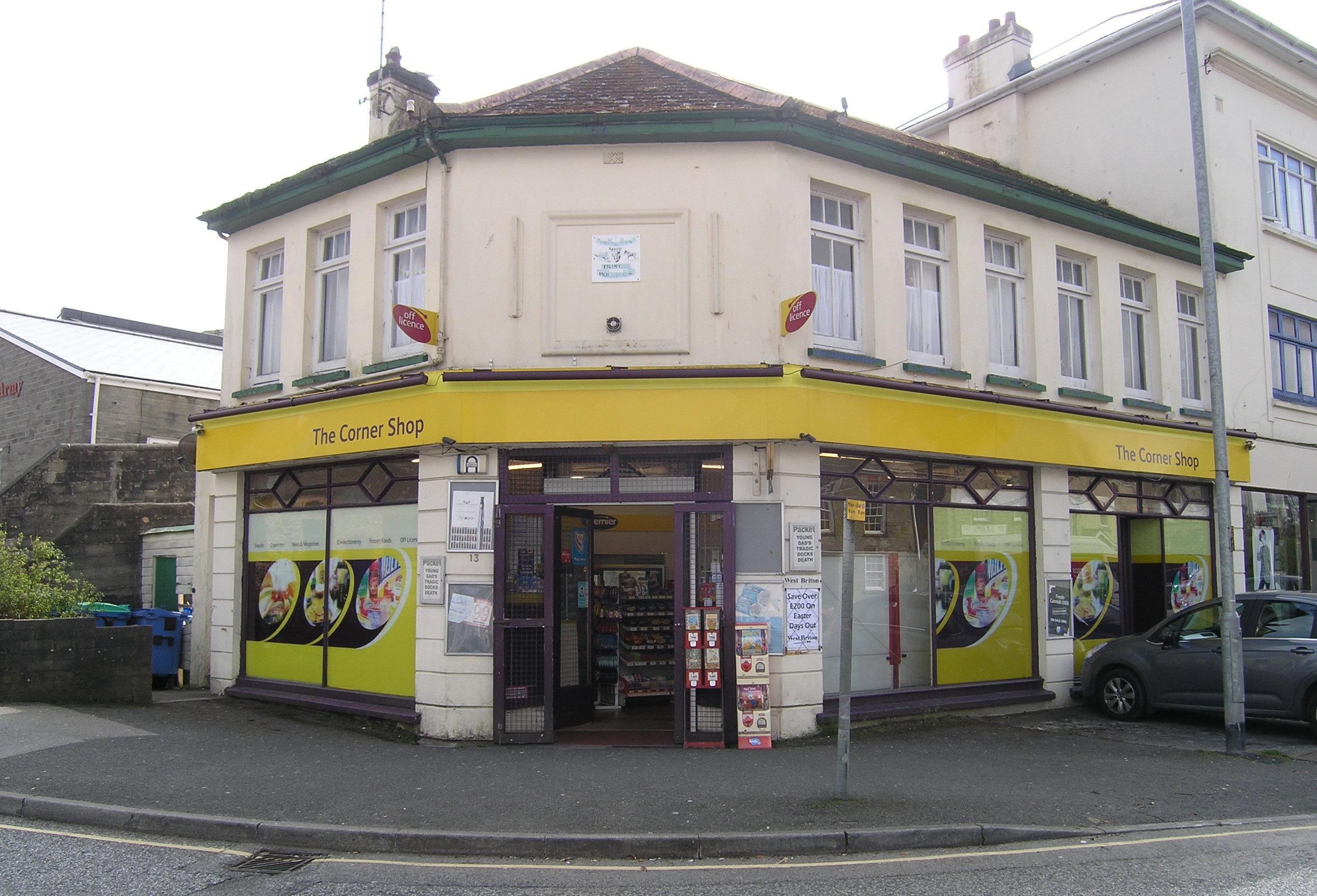 The Corner Shop, Falmouth