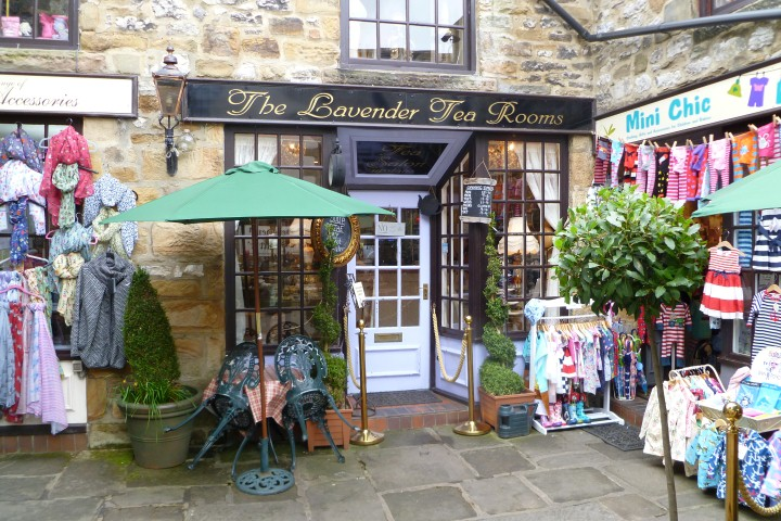 The Lavender Tea Rooms, Bakewell, Derbyshire
