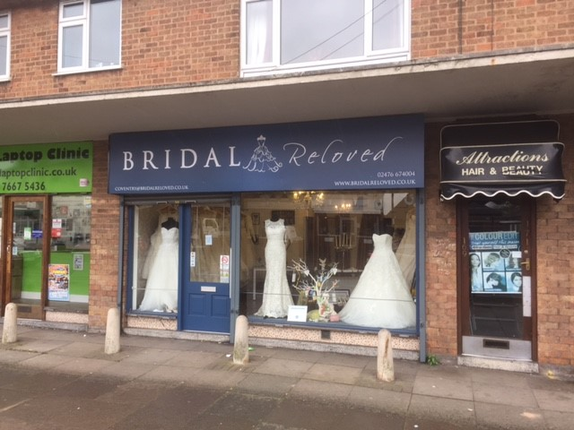 Bridal Reloved Franchise Re-Sale, Coventry