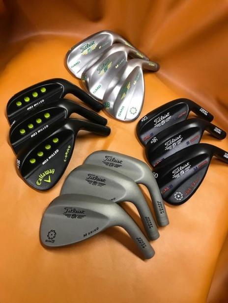 Golf Club (irons, putters etc) Refurbishment and Customisation Service UK