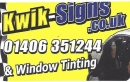 Kwik Signs for Sale www.kwik-signs.co.uk East Midlands