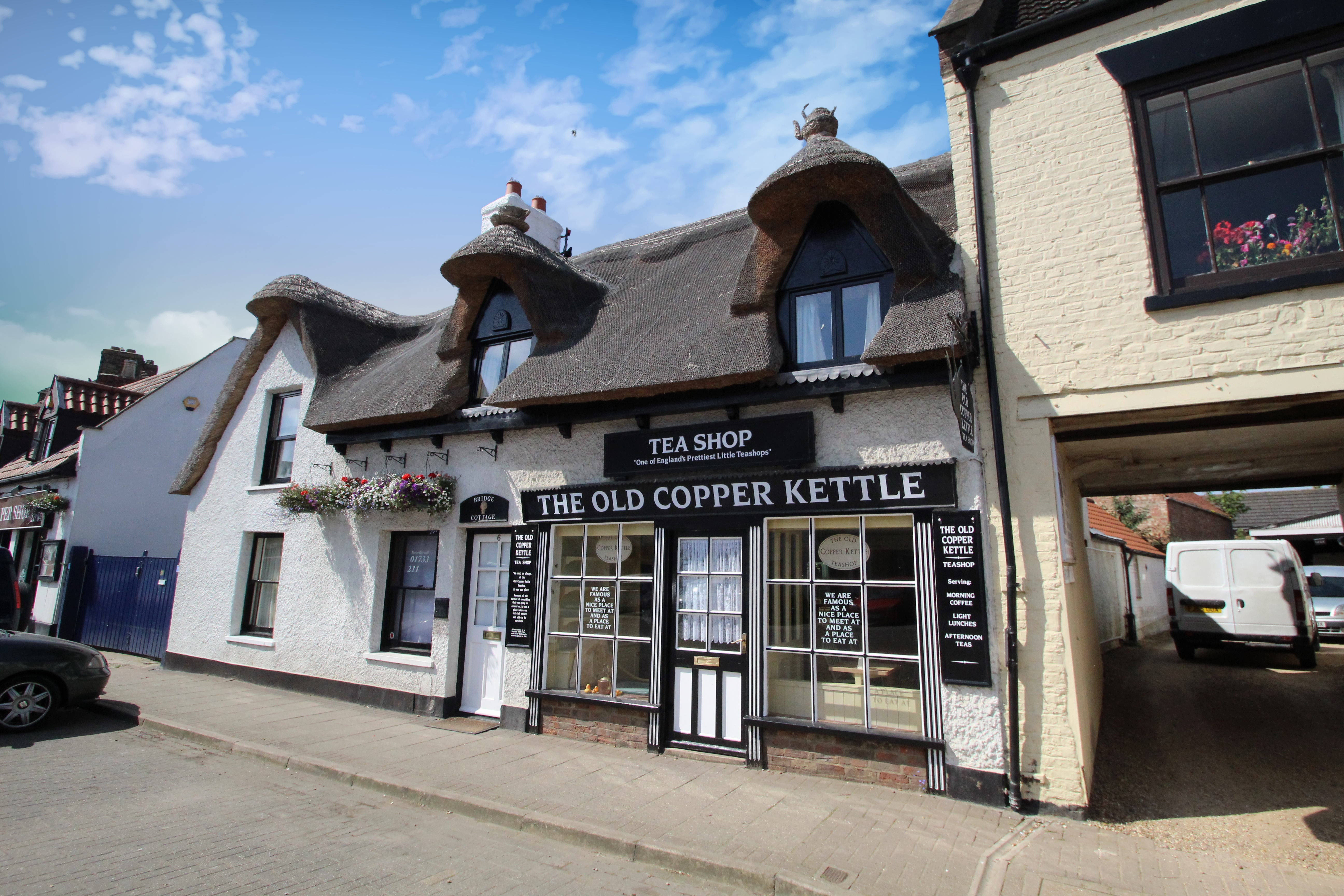 The Old Copper Kettle, Crowland, Peterborough  Lincolnshire, East Anglia