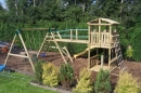 Manufacture and Installation of Outdoor Timber Play Equipment Gwynedd