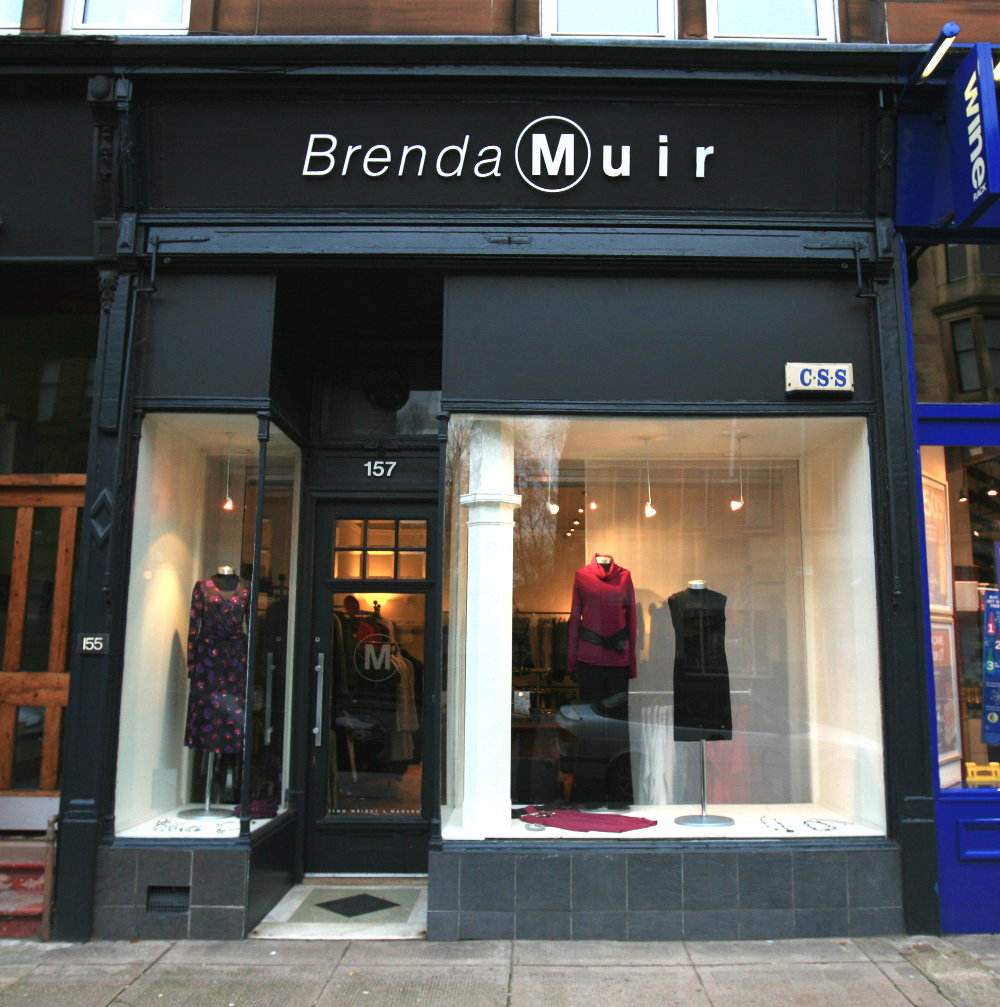 Brenda Muir Ladies Fashion Boutique, West End, Glasgow, Scotland