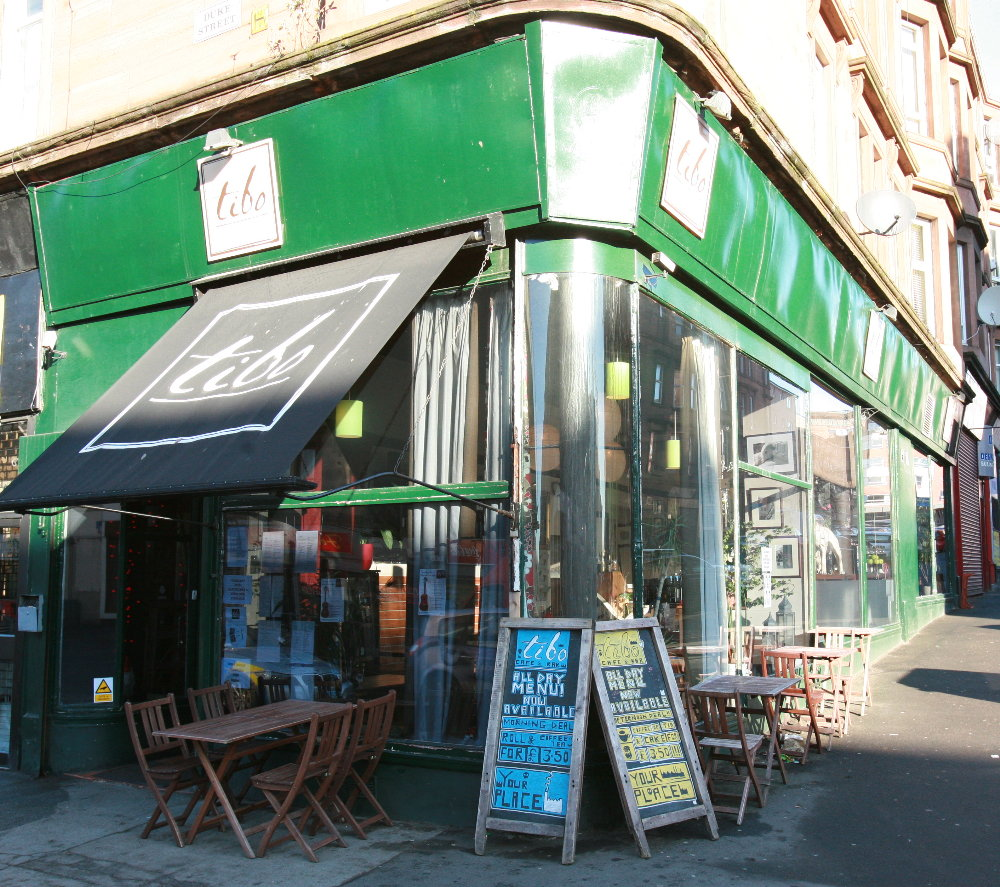 Cafe Tibo – Glasgow, Scotland