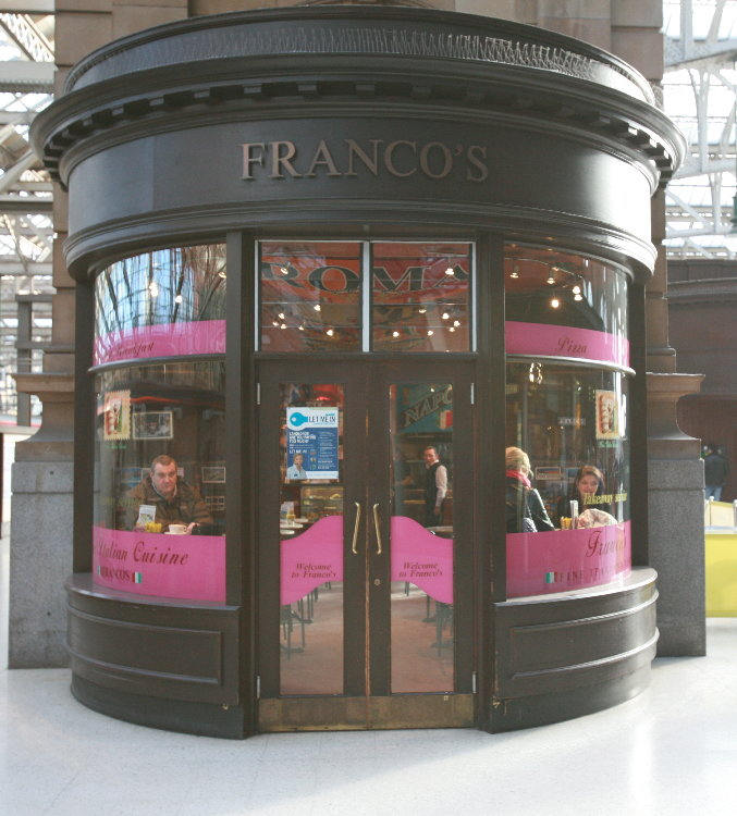 Franco – Central Station, Glasgow, Scotland