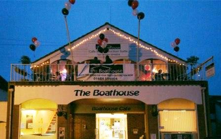The Boathouse Cafe Restaurant – Upton upon Severn, Worcestershire