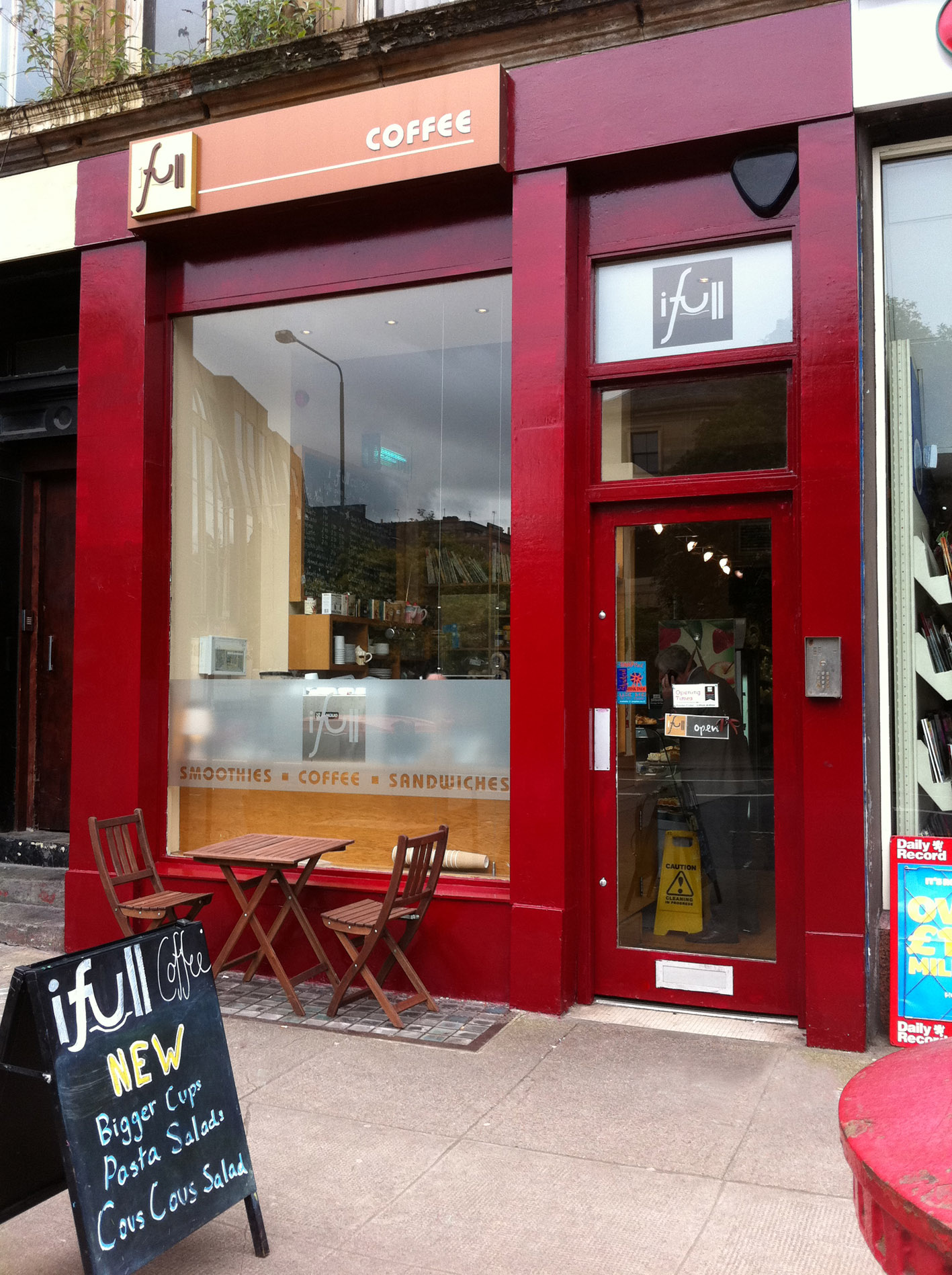 iFull Cafe – Glasgow, Scotland
