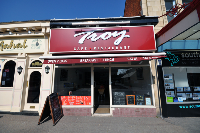 Troy Cafe – Bournemouth
