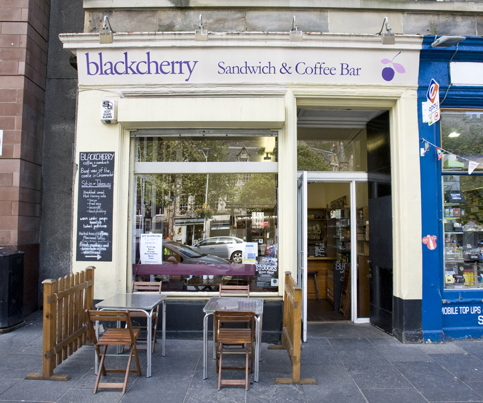 Blackcherry Cafe – Edinburgh, Scotland
