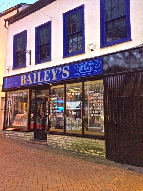 Baileys Coffee Shop & Sandwich Bar in Oswestry
