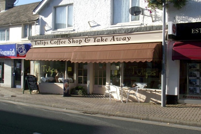 Tulips Coffee Shop, Highcliffe, Dorset