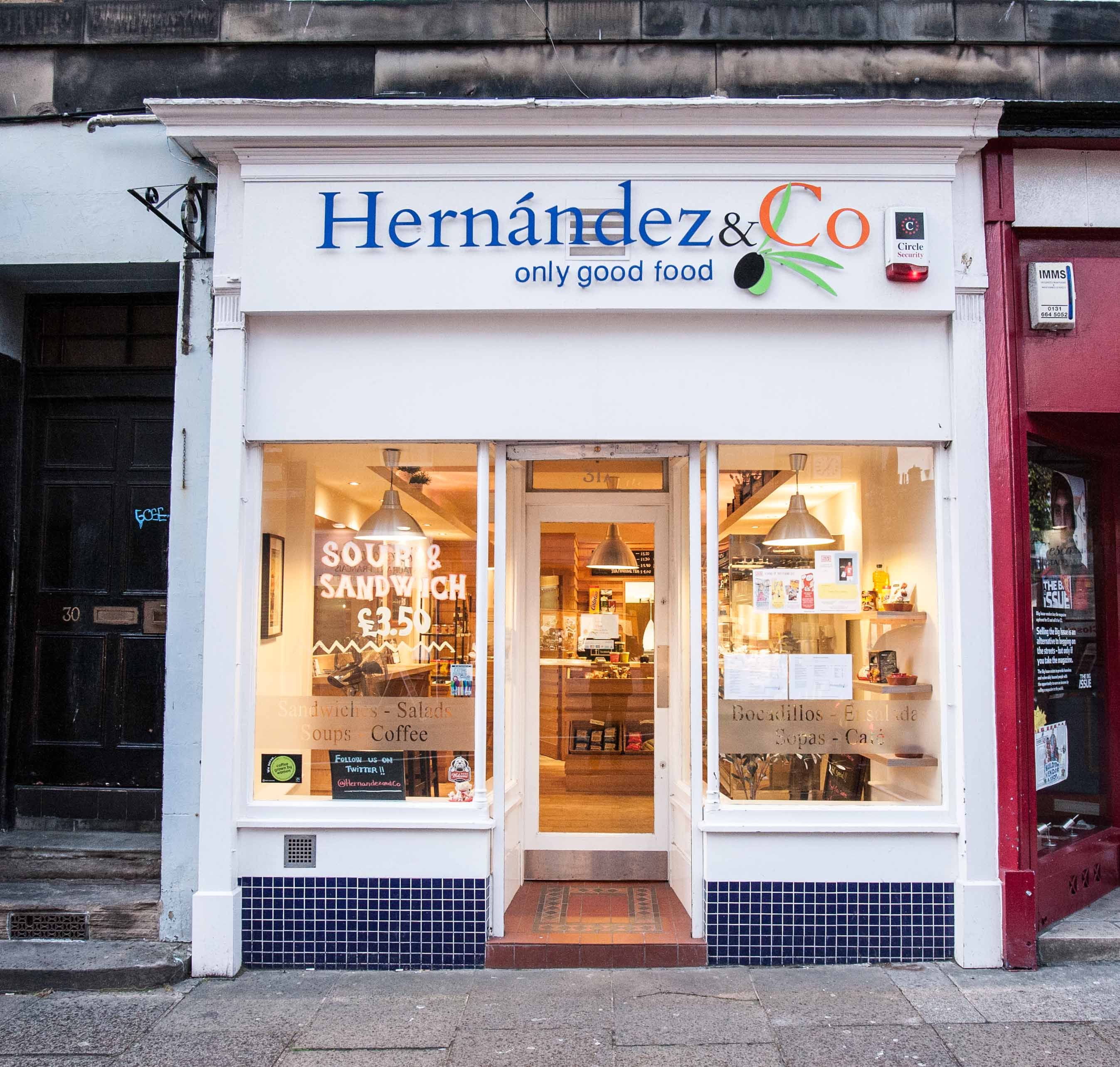 Popular and Well Established Sandwich Bar and Coffee Shop in Edinburgh