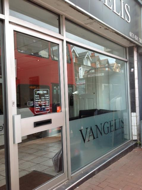 Vangelis Hair Salon in Bearwood