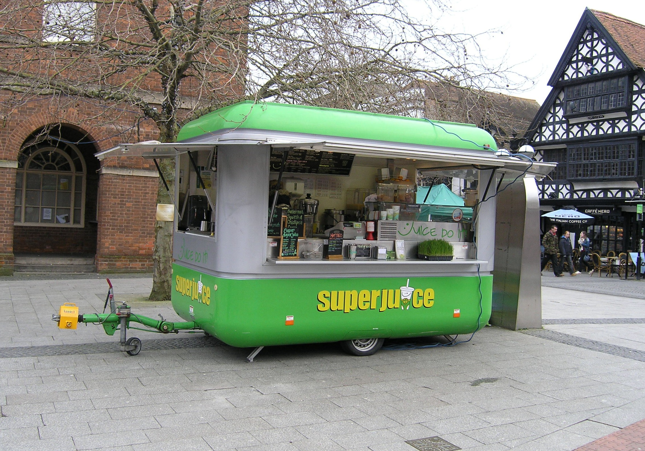 Superjuice mobile juice & smoothie Franchise, Taunton, Somerset