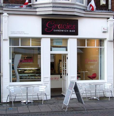 Gracies Sandwich Bar, Melton Mowbray