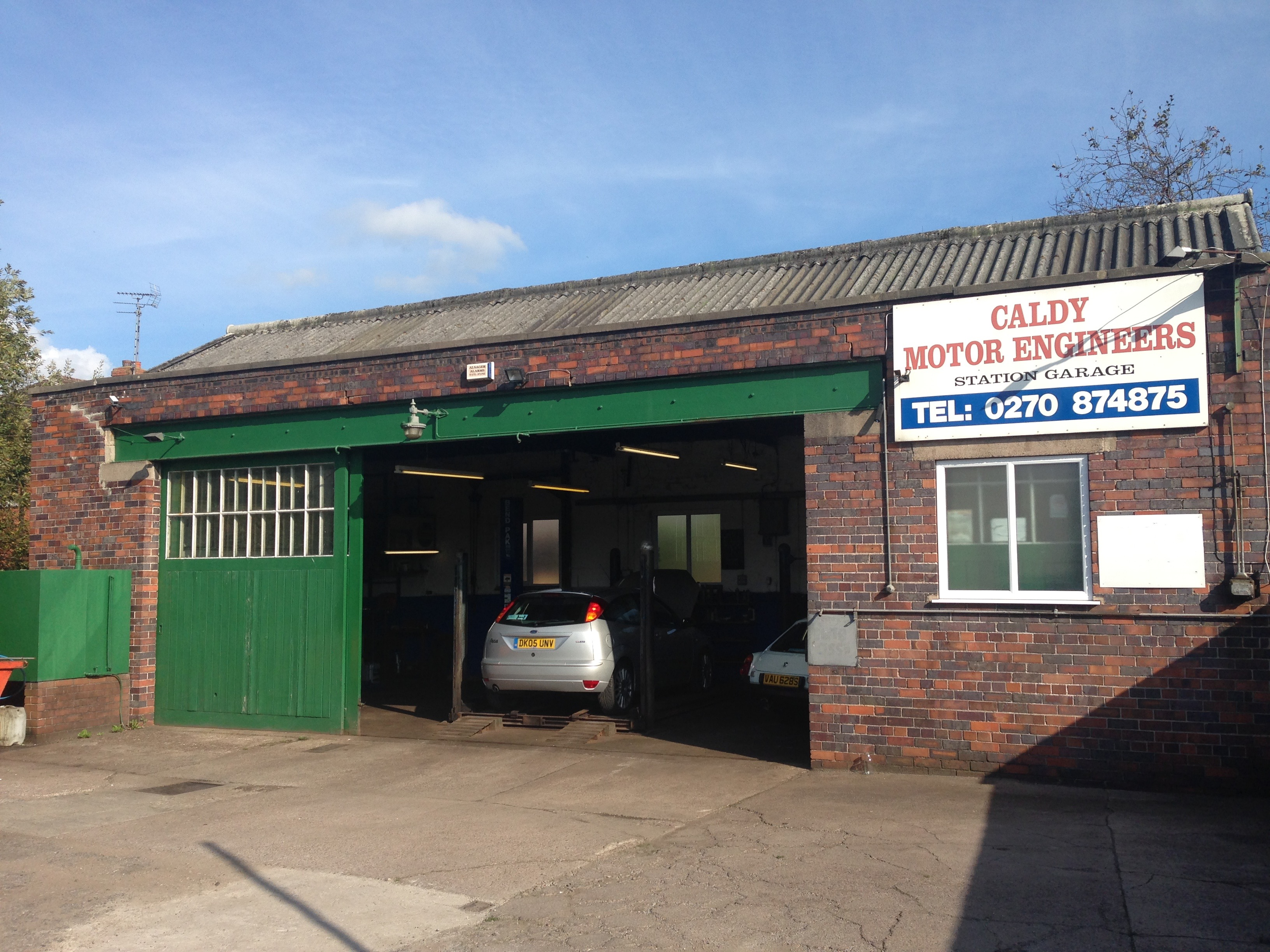Caldy Motor Engineers, Alsager, Stoke on Trent