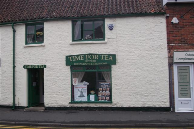 Time for Tea, Bourne, Lincs