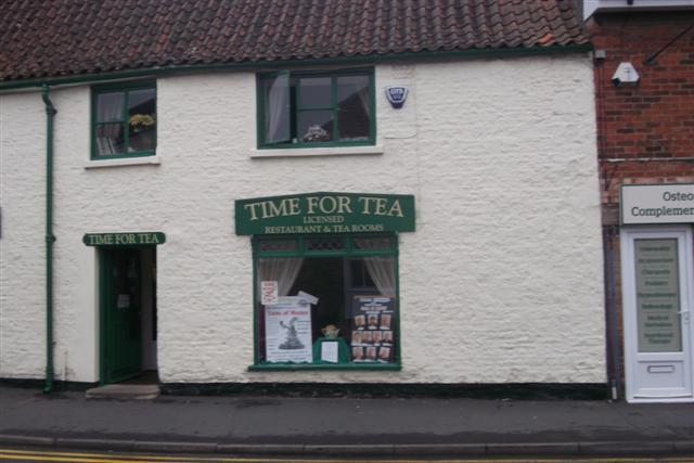Time for Tea, Bourne, Lincs
