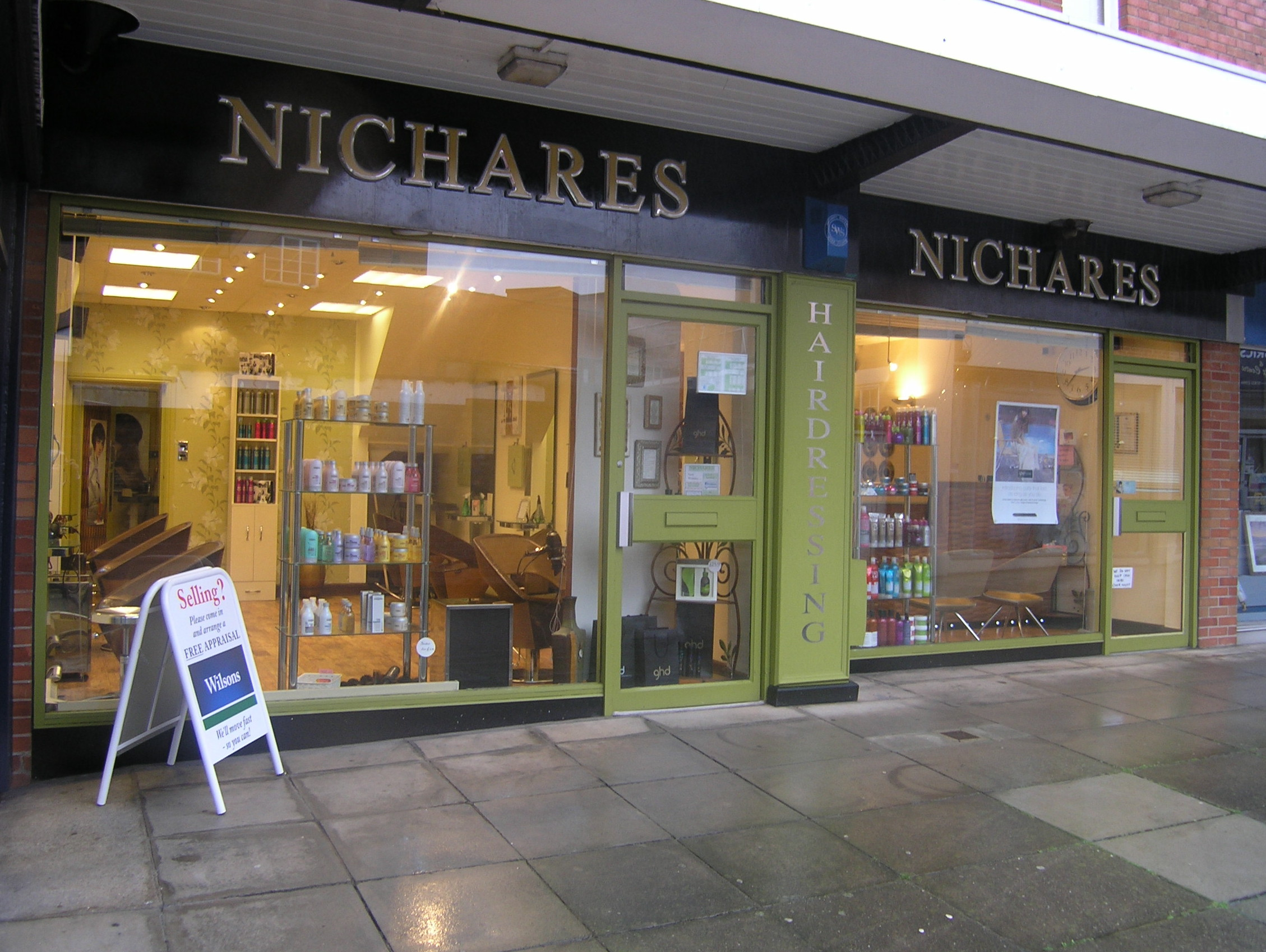 Nichares Hair Salon,Magdalene Lane,Taunton.