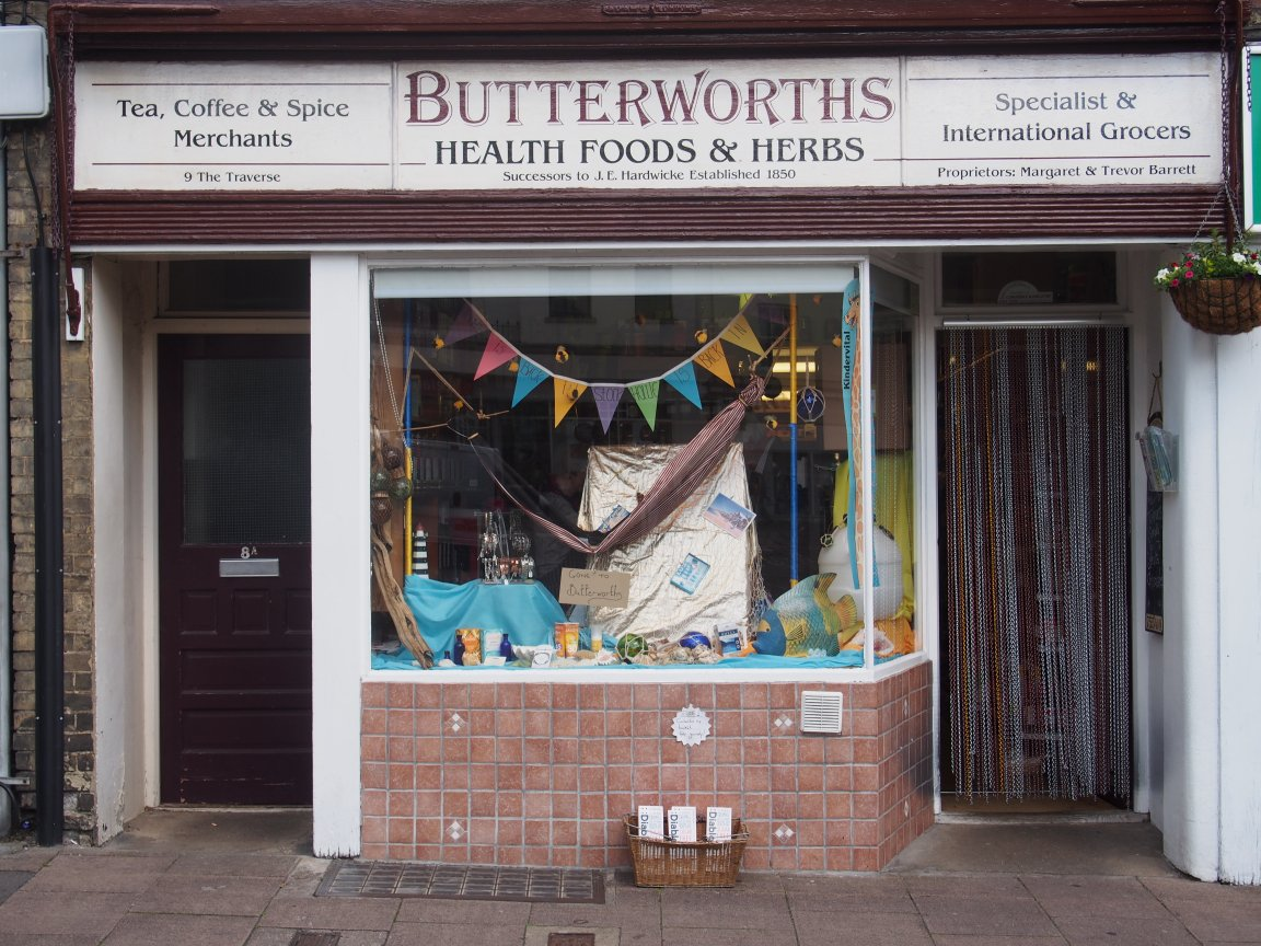 Butterworths Healthfood & Herbs, Bury St Edmunds