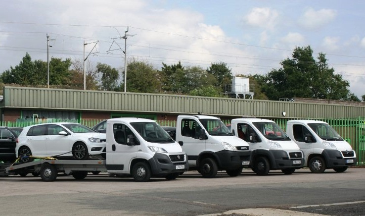 RJB Vehicle Deliveries, Worcestershire