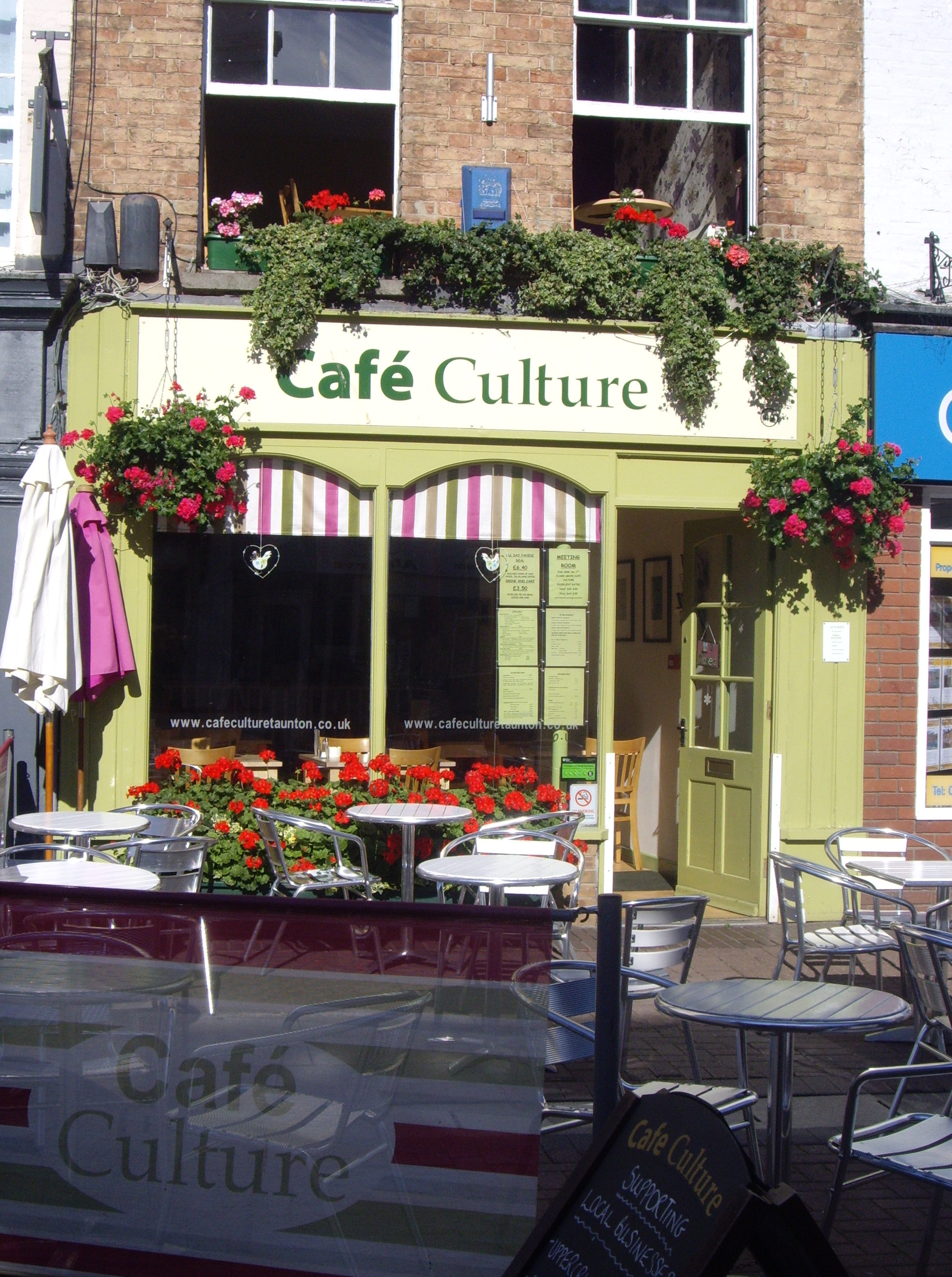 Cafe Culture, Taunton