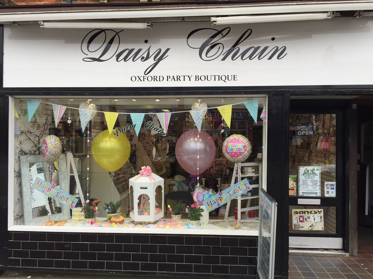 Daisy Chain Cards Balloons and Gifts, Headington, Oxford