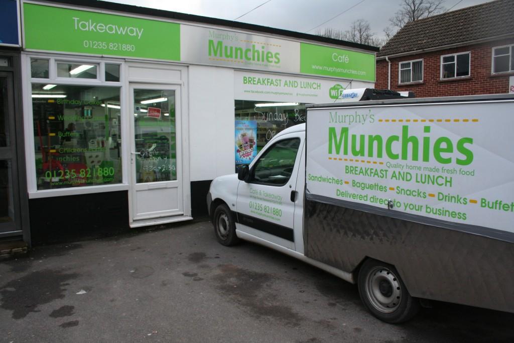 Murphy's Munchies Cafe, Steventon, Oxfordshire