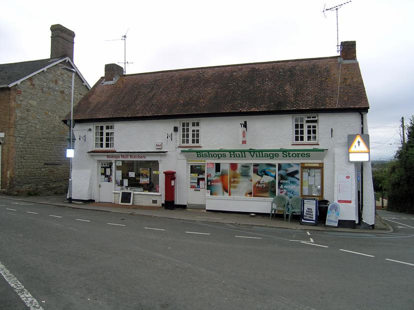 Bishops Hull Butchers, Post Office & Stores, Taunton, Somerset