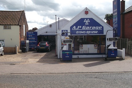 AJ's Garage, Terrington St John