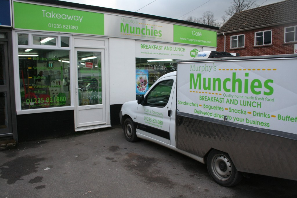 Munchies Cafe, Steventon, Oxfordshire
