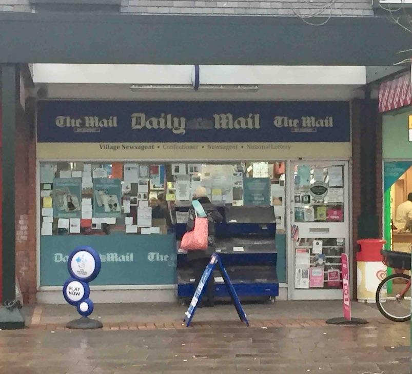 Village Newsagents, Formby, Merseyside