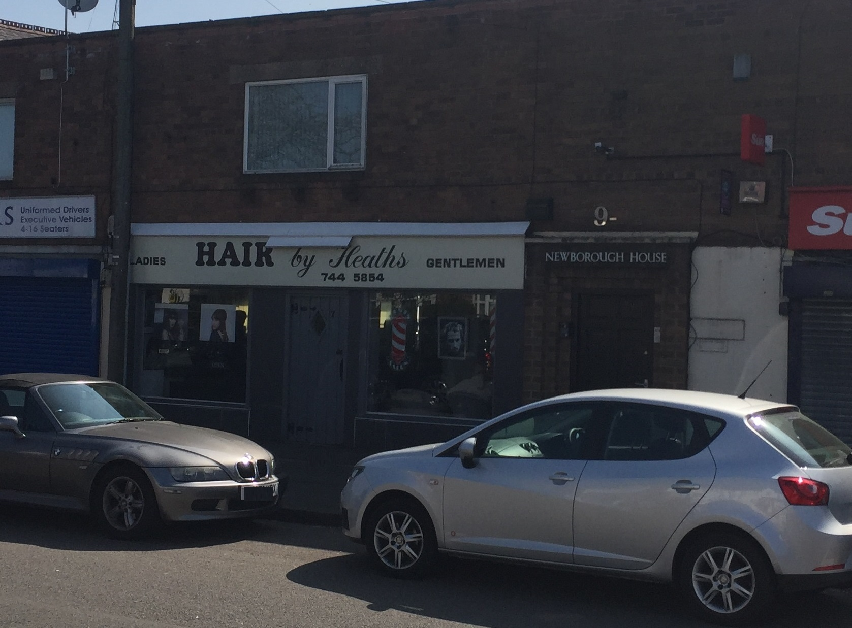 Hair by Heath Barbers, Birmingham