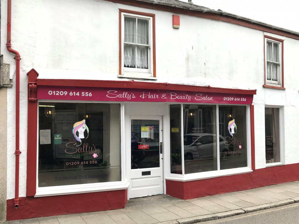 Sallys Hair & Beauty Salon, Camborne