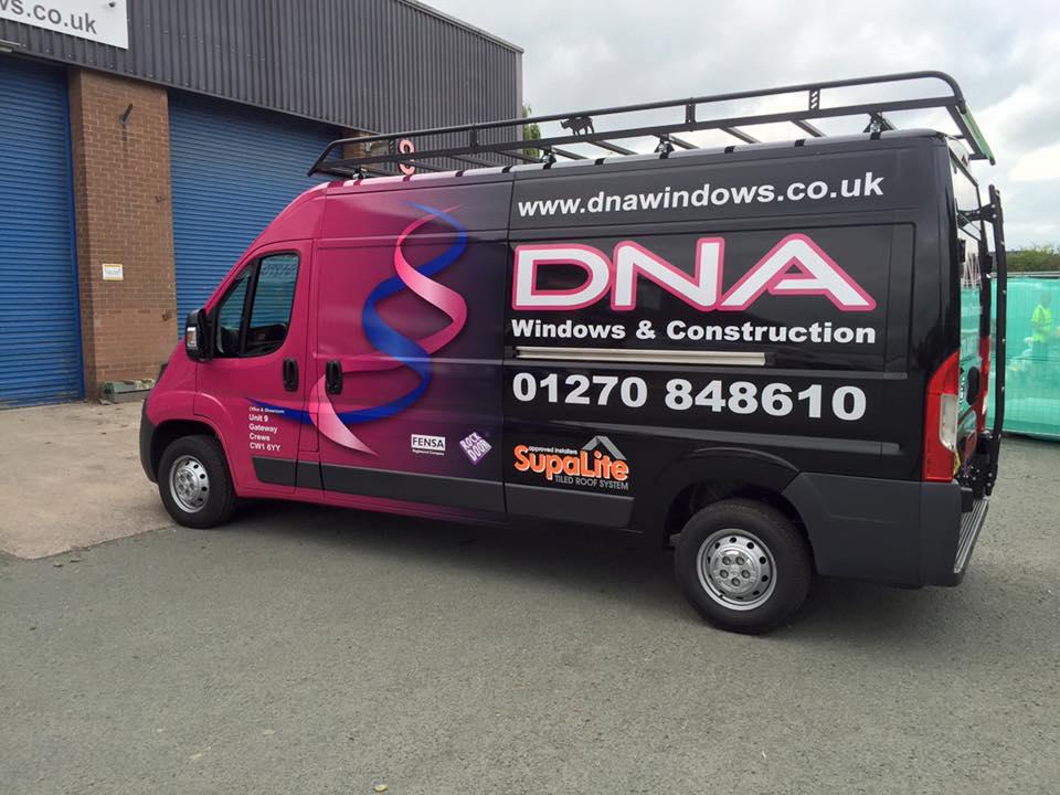 DNA Windows & Conservatories Ltd, Crewe